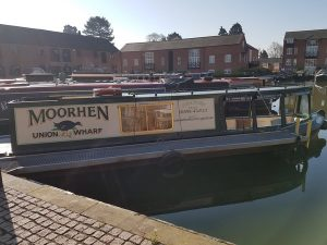 Day boat for hire at Union Wharf Marina Market Harborough12